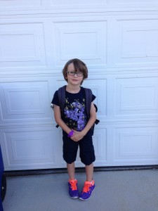 Voldemort in My Little Pony shirt, bright shoes, and glasses